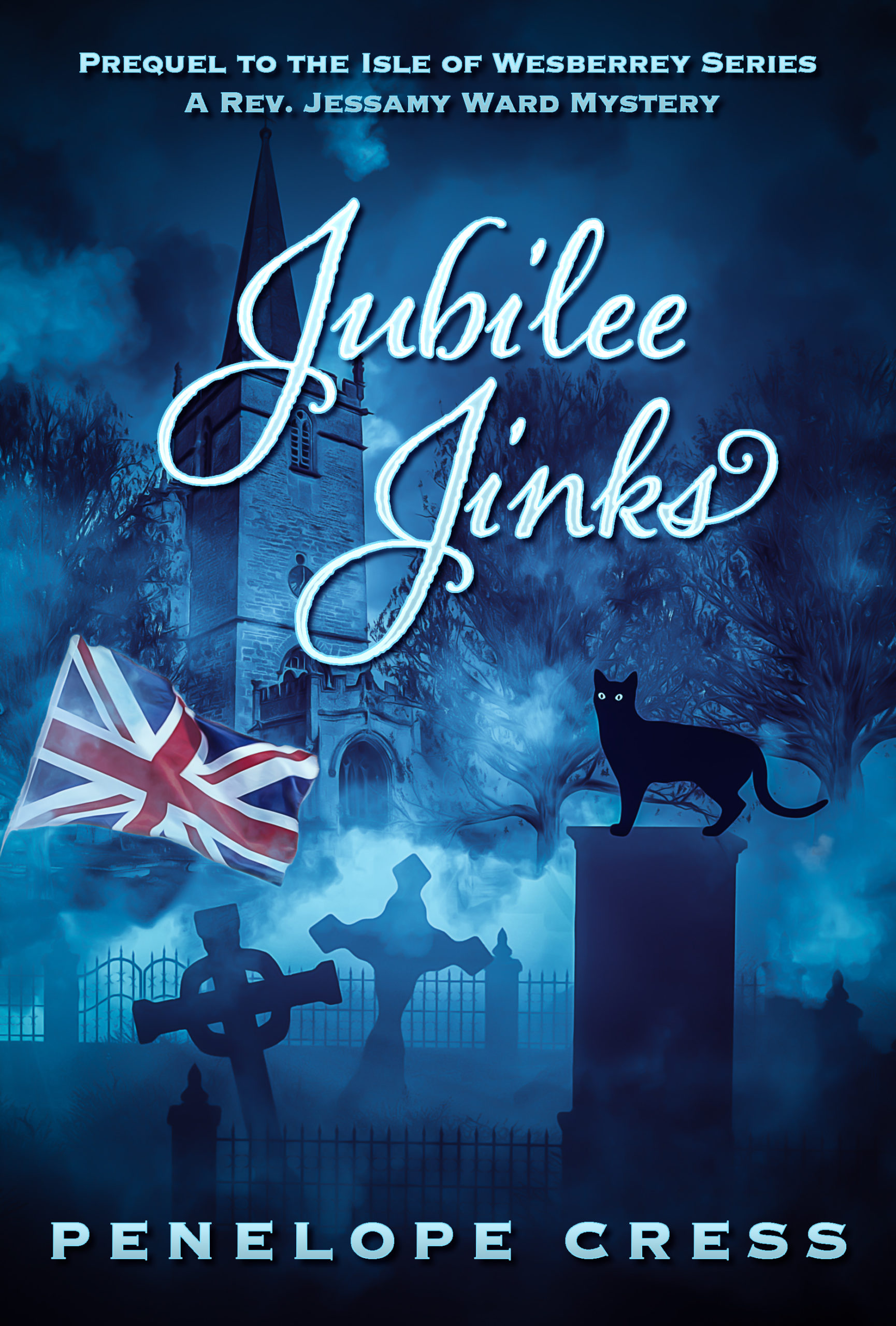 Jubilee scaled - Penelope Cress - Cosy Mystery Writer - UK Murder Mystery Author