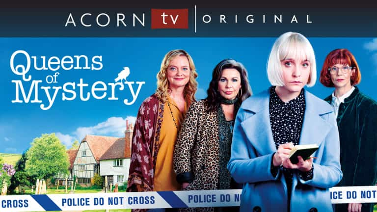 acorn tv queens of mystery review - Why do we enjoy watching a good murder mystery? Is it because we all want to play detective?
